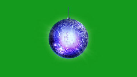 Party lights motion graphics with green screen background Animation