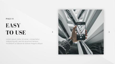 Modern Presentation - Clean Lines Plantillas de Premiere Pro