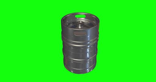 animations 3d keg beer craft beer metal steel beer keg barrel craft barrel metal barrel keg brewery Animation