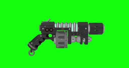 animations 3d alien sci fi gun sci fi blaster sci fi alien ray gun ray blaster ray alien laser gun Animation