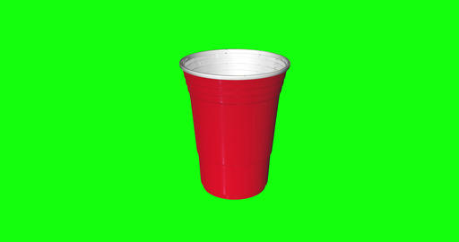 animations 3d cup classic party classic red classic cup plastic party plastic red plastic disposable Animation