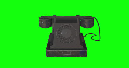 animations 3d telephone rotary antiquated rotary dial rotary old telephone phone antiquated phone Animation