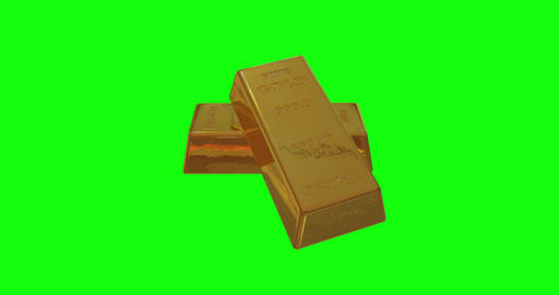 8 animations 3d gold standard ingots standard bars standard gold reserve ingots reserve bars reserve Animation