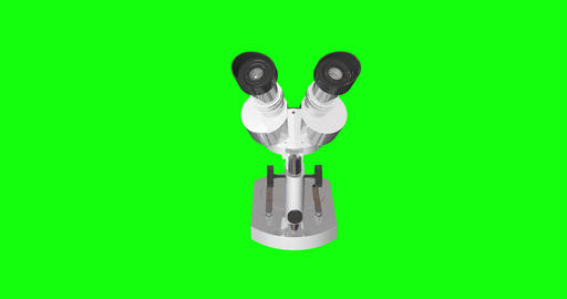 8 animations 3d microscope optical binocular optical old optical microscope instrument binocular Animation