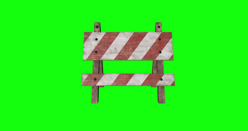 8 animations 3d barrier traffic wooden traffic street traffic barrier barricade wooden barricade Animation