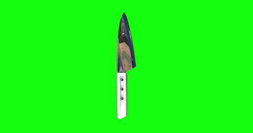 8 animations 3d knife handle chef handle kitchen cook handle knife white chef white kitchen white Animation