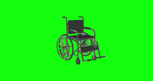 8 animations wheelchair cripple invalid cripple handicap cripple wheelchair orthopedic invalid Animation