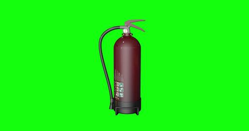 8 animations 3d fire burning extinguisher burning flame burning fire green screen extinguisher green Animation