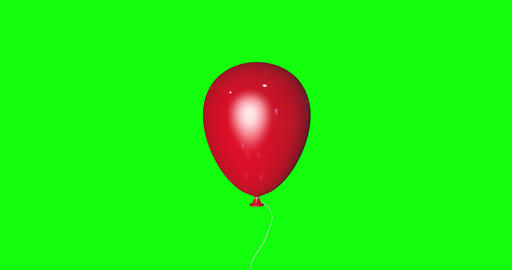 8 animations red balloon latex party latex birthday latex balloon flying helium party birthday Animation