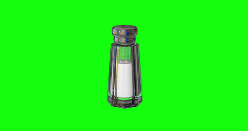 8 animations 3d salt sodium shaker sodium glass sodium salt crystal shaker crystal glass crystal Animation