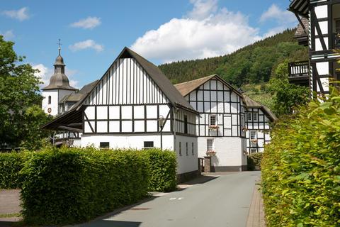 Oberkirchen village, Schmallenberg, Sauerland, Germany Photo