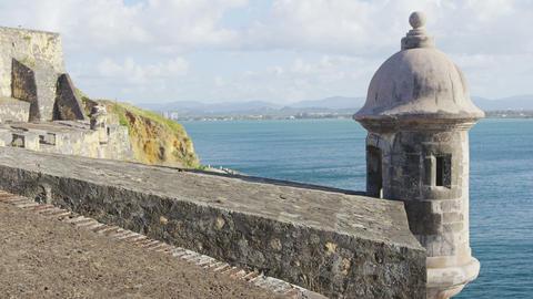 Puerto Rico tourist destination Landmark castle El Morro Live Action