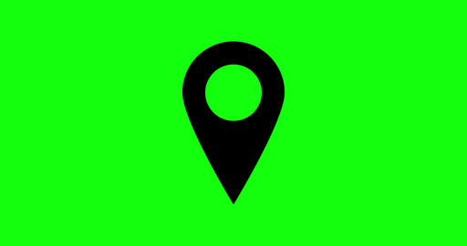 8 animations gps green screen location address icon pointer map navigation gps address location Videos animados