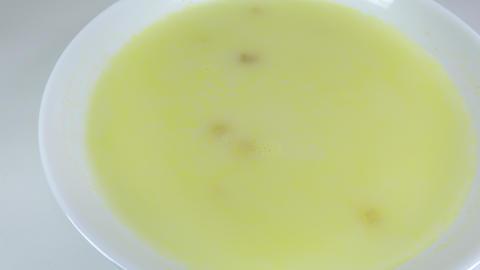 Corn cream soup010 Live Action