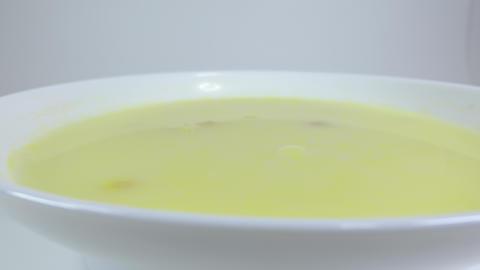 Corn cream soup018 Live Action