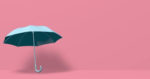 Blue umbrella minimal open minimal rain minimal umbrella pink open pink rain pink umbrella Animation