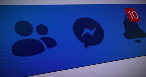 facebook social notification social network social facebook counter notification counter network Animation