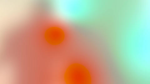 Abstract blurry overlay to put on your footage with soft salmon, green, blue, and yellow colors. Animation