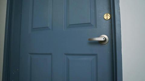door open 01 Stock Video Footage