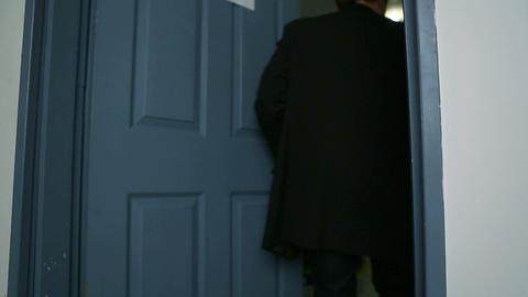 door open 01 Footage