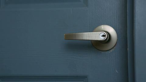 door open 03 Stock Video Footage