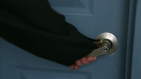 door open 05 Stock Video Footage