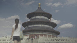 Beijing. China. The symbol of the city. Temple Of Heaven (Tiantan Park) Footage