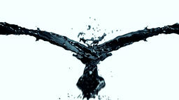 Oil or Ink Splash Animation