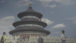 The Temple of Heaven in Beijing. Architecture Of China Footage