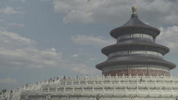 Architecture Of China. Beijing. Temple Of Heaven (Tiantan Park) Live Action
