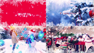 Happy New Year (Christmas Slideshow) After Effects Template