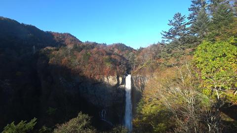 Japanese tourist attractions, Sunlight Kegon Waterfall.日本の観光スポッ ライブ動画