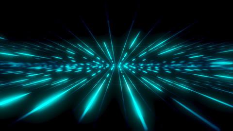 Blue Glowing Field Animation