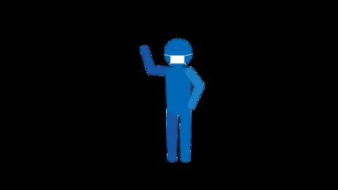 Bye bye-1-mask Animation