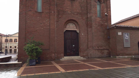 Small historical church in city center of Ferrara 2 Live Action
