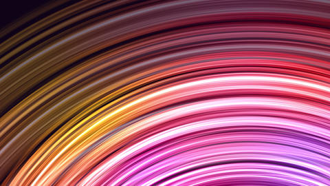 Sparkling abstract background of glowing rings CG動画