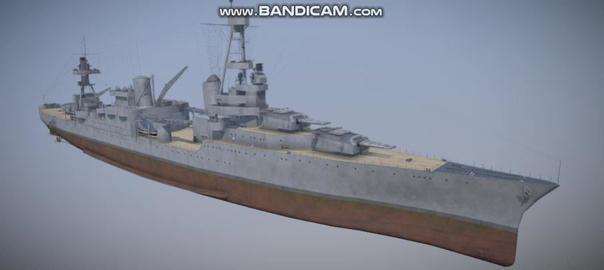 Northampton navi military vessel 3D Model