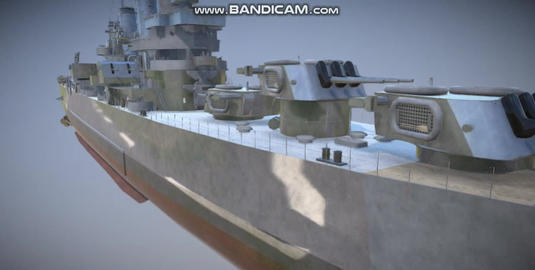Helena navi military vessel 3D Model