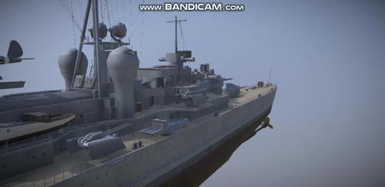 Prinz Eugen navi military vessel 3Dモデル