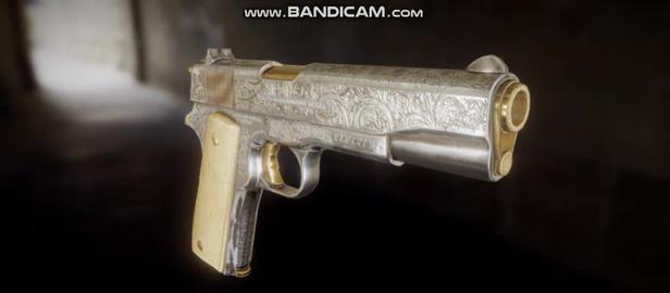 Colt m1911 3Dモデル