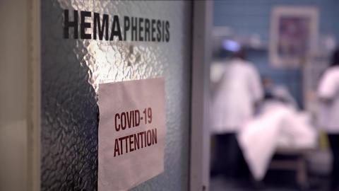 Hospital ward coronavirus room Live Action