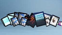 Tablet PC with video on Animation