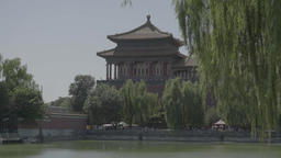 Beijing Architecture. China. Asia. Forbidden city Live Action