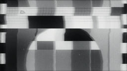 TV Test starting transmission, Black and White Animation