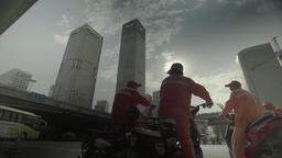 Beijing skyline. Beijing. China. Views of the city Footage