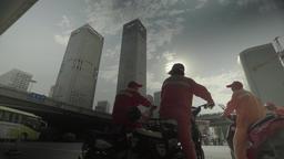 Beijing skyline. Beijing. China. Views of the city Footage