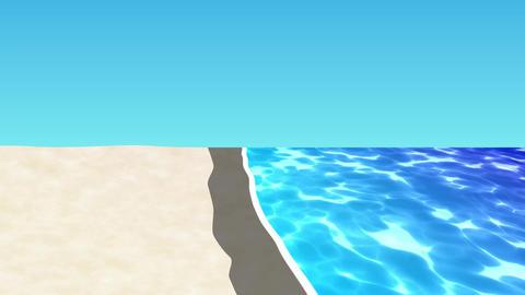 ANIMATION BACKGROUND【BEACH】 Animation