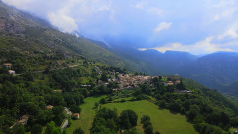National Park of Prealpes D Azur in France - awesome landscaoe Live Action