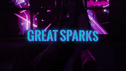 Sparks Effects Apple Motion Template