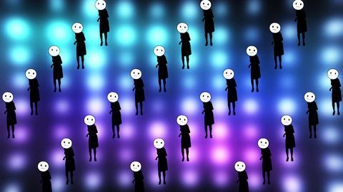 emoji ball dance video Animation